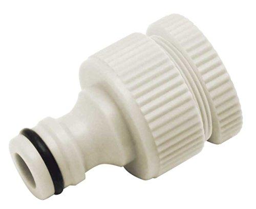 AQUA CONTROL Adaptateur Double pour Robinet avec Filetage Femelle DE 1/2 et 3/4, 1 x 1 x 1 cm, c2520