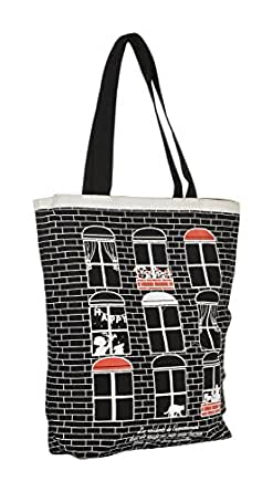 Lustre Crafts Tote Bag (Black)