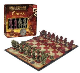 Disney Pirates of the Caribbean Dead Man's Chest, Chess Collector's Edition