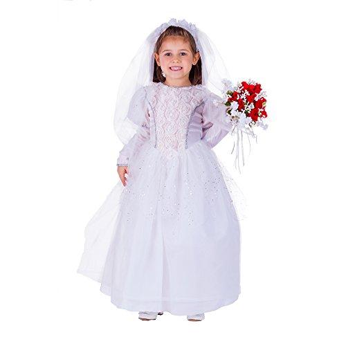 immernde Braut des kleinen Mädchens (Bräutigam Kostüm Für Kleinkind)