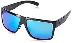 adidas Mens 3Matic a427 6054 Rectangular Sunglasses Black Shiny 60 mm