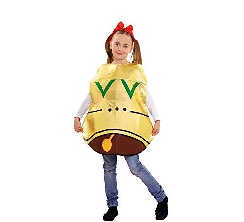 Imagen de disfraz de campana navideña para niños en varias tallas