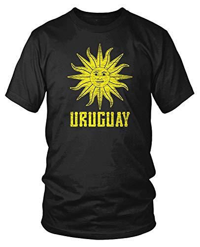 Men's Uruguay Sun of May, Uruguayan Sol de Mayo T-Shirt L