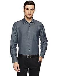 Van Heusen Men's Solid Slim Fit Formal Shirt - B07BHC24JN