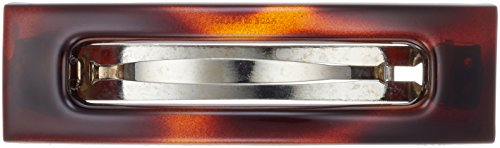 Caravan Open Rectangle Box Barrette Shell Model No. 7025 -