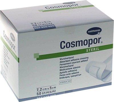 Cosmopor Steril Wundverband 5 cm x 7,2 cm (50 Stück)
