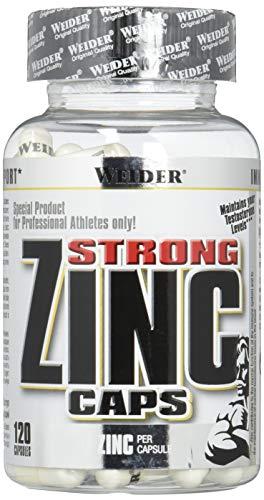 Weider Zinc Caps, 1er Pack (1x 120 Kapseln)