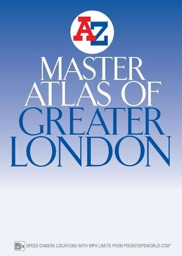 London Master Atlas (A-Z Street Atlas) por Geographers' A-Z Map Company
