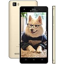 Cellulari Offerte - telefonia mobile A10 Dual SIM 4G - Android 7.0, 5.0 inch HD 1GB RAM - 8GB ROM Quad Core 5.0MP Fotocamera 2800mAh GPS Cellulari in Offerta Smartphone offerta del giorno (Oro)