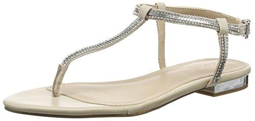 ALDO Damen Diamante T-Spange Elfenbein (32 Bone)
