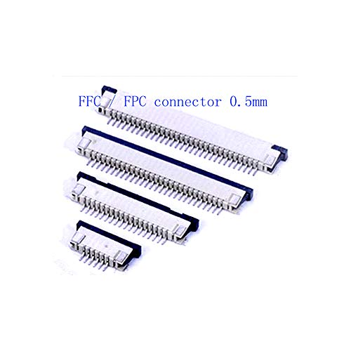 10 stücke FFC/FPC stecker 0,5mm 4Pin 5 6 7 8 10 12 14 16 18 20 22 24 26 28 30 P Schubladentyp Flachstecker Flachkontakt Top Schütz fpc, 30 P, Oberer Kontakt