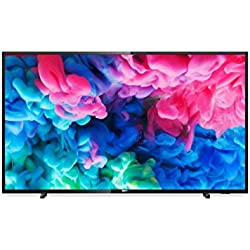 "TV LED ULTRAPLANO PHILIPS 50PUS6503 - 50""/126CM 4K UHD 3840 X 2160 - DVB-T/T2/T2-HD/C/S/S2 - SMART TV - WIFI - ALTAVOCES 20W - 3XHDMI - 2XUSB - NEGRO"