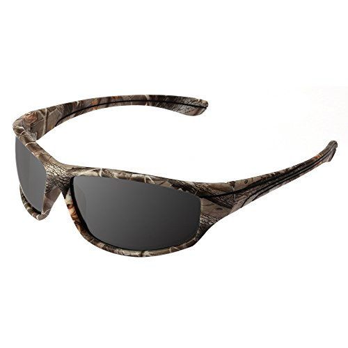 BigForest Polarisierte Sports TAC Lens Camo Sonnenbrille Sunglasses for Men Women Running Cycling Fishing UV400