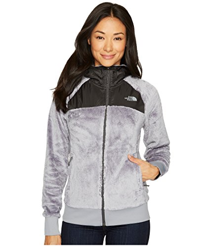 The North Face Oso Hoodie Women (X-Small, Mid Grey/Asphalt Grey)