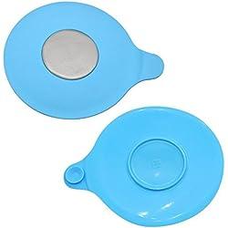 Sangkoo Bouchon de baignoire ventouse en caoutchouc de silicone Pour baignoire et évier