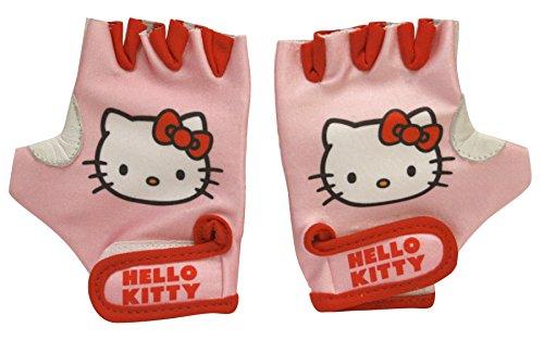 Hello Kitty Mädchen Fahrradhandschuhe mit Klettbefestigung, Rosa, S, 802228
