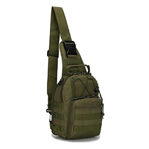 Z&N backpack Militärfans Tarnung kleine Brusttasche Reitschultertasche taktische Brusttasche Outdoor Bergsteigen tragbare Tasche Campingrucksack Wanderrucksack Männer und Frauen B