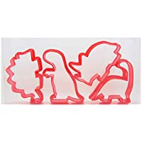 Goggly Dinosaur Cookie Cutters Set of Four, Biscuit, Pastry, Fondant Cutters