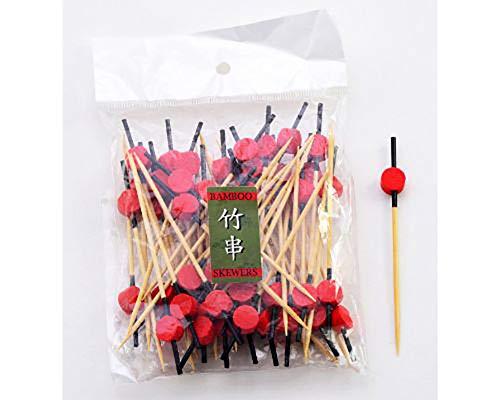 Plektren für Appetizer, Bambus, naturfarben, 100 Stück