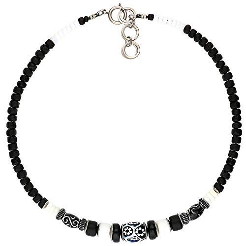 langani Halskette Omar Damen-Kette schwarzen Perle Handmade Since 1952