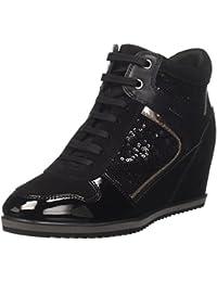 Geox D Illusion B, Zapatillas Altas para Mujer