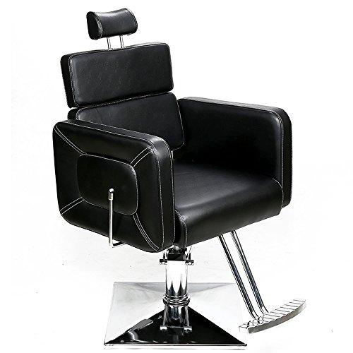 Barberpub Fauteuil Télécommande Coiffure Coiffeur Création Fauteuil de coiffeur hydraulique Chaise 2065BK
