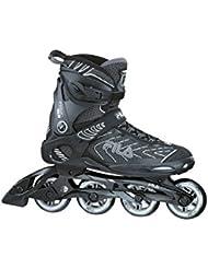Fila Inline Skate Primo Alu - Patines en línea, color negro, talla 9
