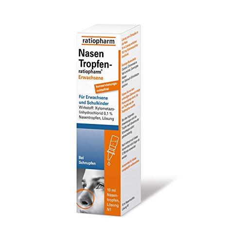 NasenTropfen-ratiopharm E 10 ml