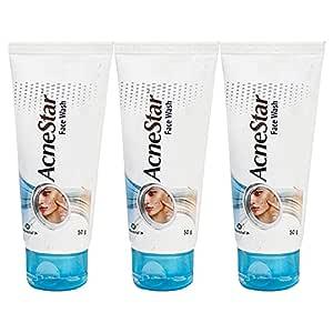 AcneStar Unisex deep cleansing Facewash (Pack of 3)