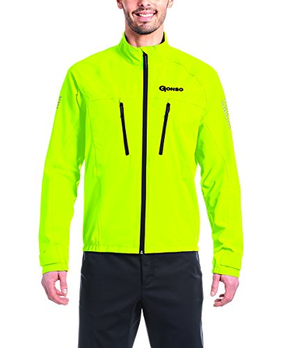 Gonso Herren Halit Allwetter-Jacke, Safety Yellow, XXL (Safety Jacke)