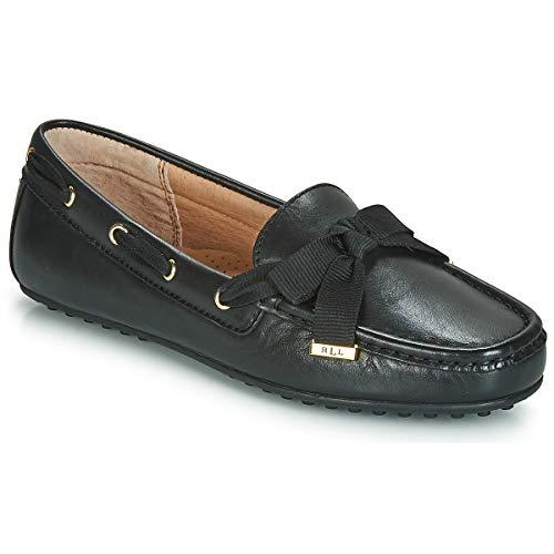 Lauren Ralph Lauren Becka Slipper & Chaussures Bateau Damen Schwarz - 38 - Slipper