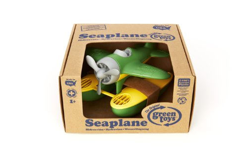 Green Toys SEAG-1029 - Wasserflugzeug, grün - 3