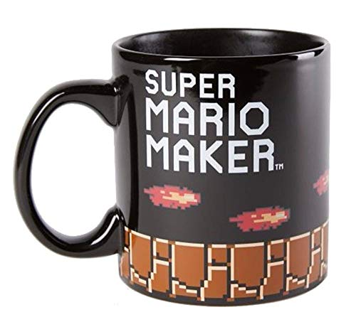 Super Mario Maker Bowser 20oz Heat Changing Ceramic