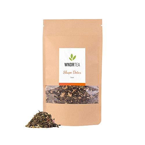 DETOX Tee Classic | 100g | 1 Monat Kur | Premium Bio Qualität | Entgiftung & Entschlackung | Loser Kräutertee | Handmade in Deutschland | WNDRTEA -