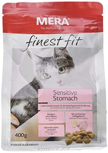 Mera Dog Katzenfutter Finest Fit Sensitive Stomach, 6er Pack (6 x 400 g)