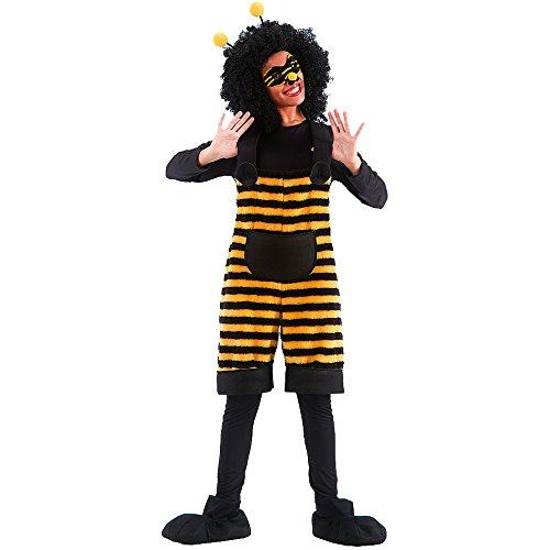 Carnival Toys 80970 - Biene, Damenkostüm mit Maske und Haarreif, M-L Preisvergleich