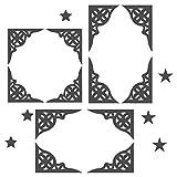 I-love-Wandtattoo 10098 Sticker Mural Oriental Noir