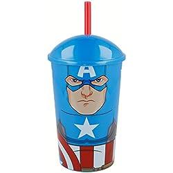 Avengers Vaso Caña Capitan America