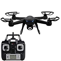 CRAVOG DM007 2.4GHz 4CH RC Quadcopter 6 Axis Gyro Explorer RC Drone With 2MP HD Camera Black