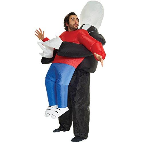 ch ab aufblasbare Kostüm - eine Größe passt am meisten (Aufblasbare Aliens)