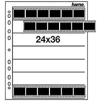 Hama Negativarchivierungshüllen (Polypropylen, für je 7 Kleinbild-Streifen à 6 Bilder, 100St.)