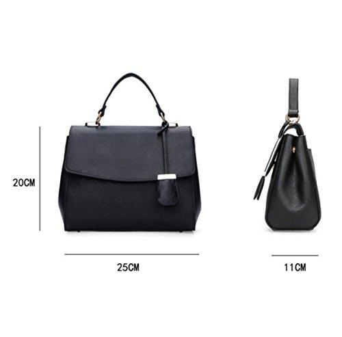 Messenger Bag Handtaschen Fashion Trend Cube Einfache Damen Handtaschen Black