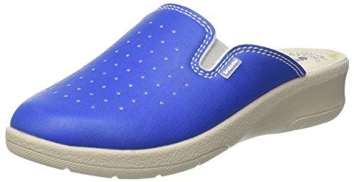 Inblu 50000034, pantofole aperte sulla caviglia donna, blu (jeans), 38 eu