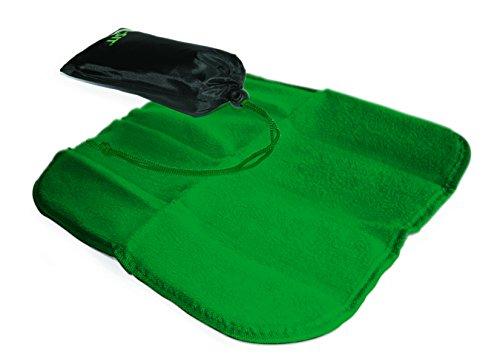 "Linotex trendige Sitzkissen ""All-Sit Fleece"" | Thermo-Isolierfolie | Fleece 240 g/m² | 33 x 33 cm | NY-07-06-011 (Grün)"