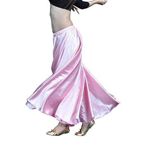 YouPue Damen Tanzkostüm Bauchtanz-Kostüm sexy High-End-Dual Rock Bauchtanz Leistungen große Rock Komfort (nicht enthalten Gürtel) Gürtel Kostüme Bauchtanz Taille Kette ()