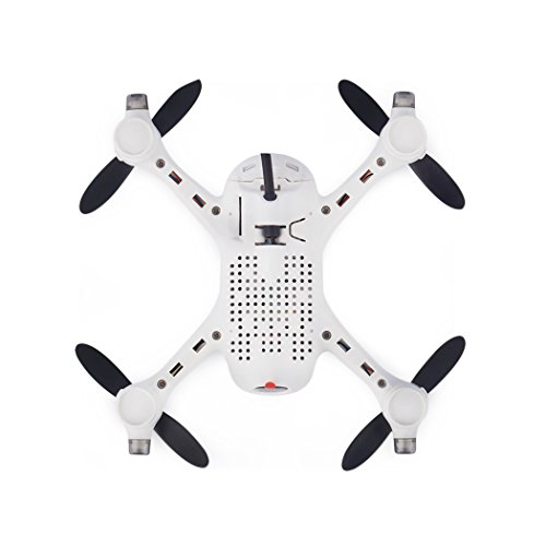 Ollivan® Hubsan X4 Plus H107D + Aktualisierte Version FPV Quadcopter 2.4GHz + 5.8GHz 6-Achsen 720P Kamera mit 4 LED Leuchten Nacht RTF Video Übertragung(Hubsan H107D+) - 4