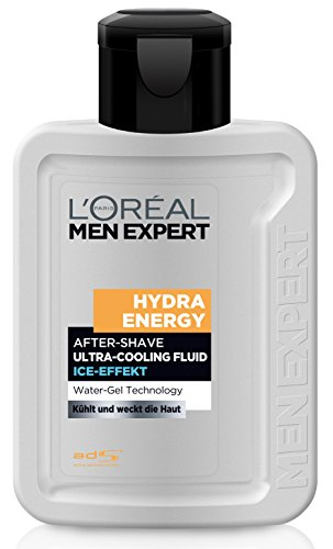 L'Oréal Men Expert Hydra Energy After Shave Fluid, 1er Pack (1 x 100 ml)