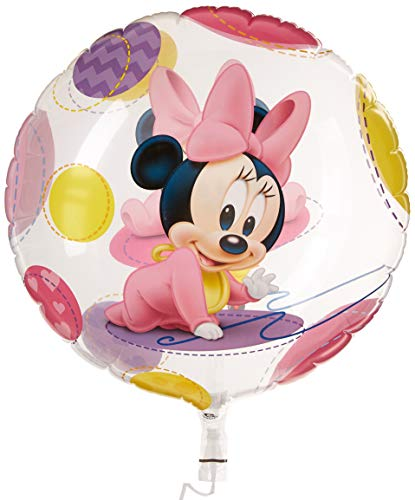 le Bubble Disney Baby Minnie Maus Latex Ballon, 22 ()