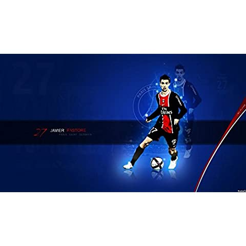 Javier Pastore (43x24 inch, 107x60 cm) Silk