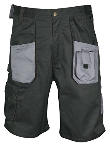 Rodo Blackrock Workman Shorts Black/Grey 34